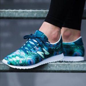 New Balance 420 Peacock Print Shoes